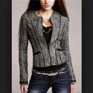 Express tweed metallic jacket